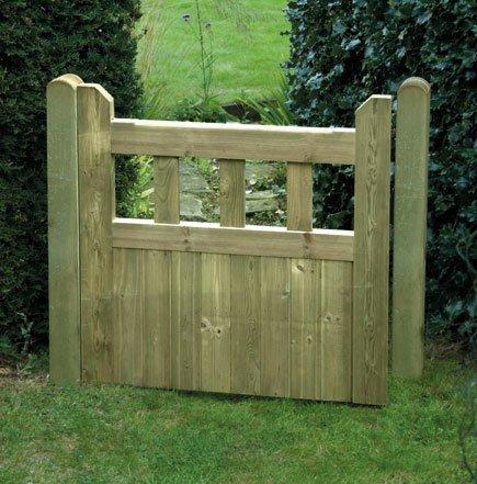 Garden Gate Tanalised Pine Gate Diyclick2buy Com