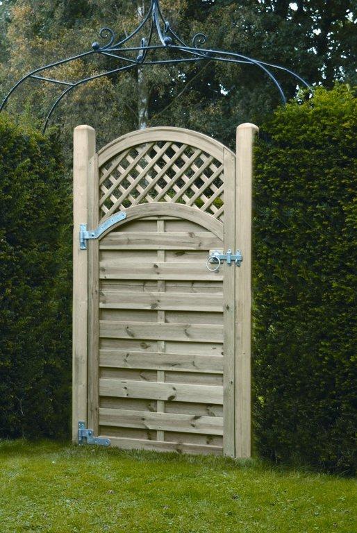 Arched Lattice Gate 1800x900 Diyclick2buy Com