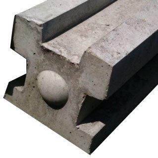 Concrete Post 8ft 9 Quot 3 Way Diyclick2buy Com