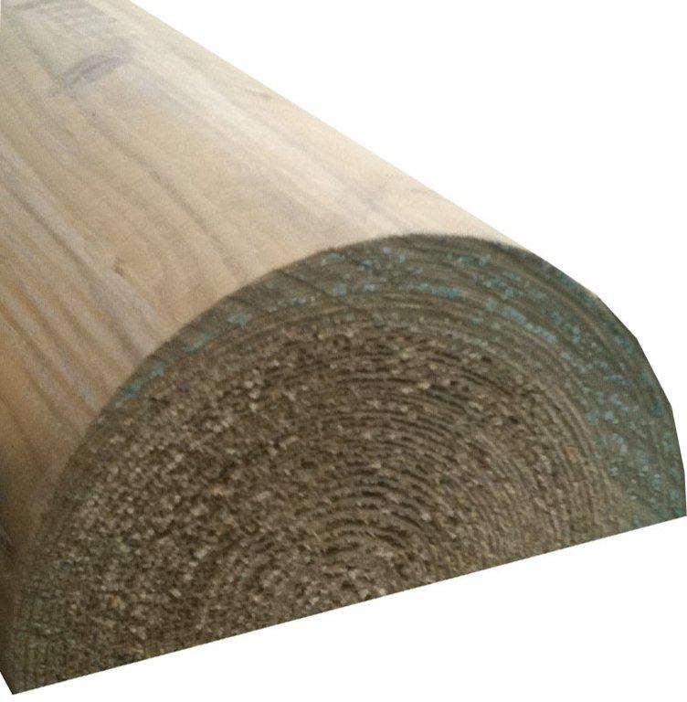 Half Round Log 100mm 3 6m Diyclick2buy Com