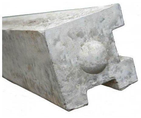 Concrete Corner Protectors : Concrete post ft quot corner diyclick buy